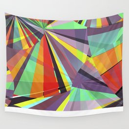 Magic circles number one Wall Tapestry