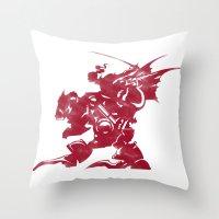 final fantasy Throw Pillows featuring FINAL FANTASY VI by DrakenStuff+