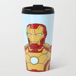 Iron Man Metal Travel Mug