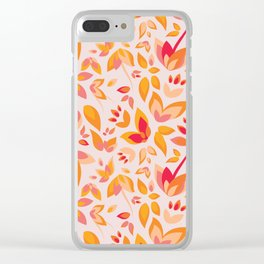 Sunny Sunshine Plants Clear iPhone Case