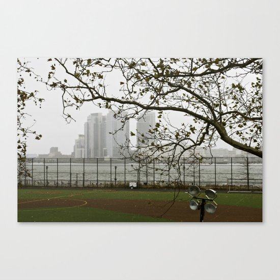 Day after Hurricane Sandy Canvas Print