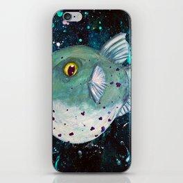 Friendly Green Fugu Redux iPhone Skin