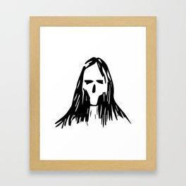 Someone Rock Framed Art Print
