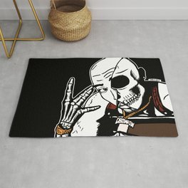 All Eyez On Me Iconic Hip Hop 2 Pac by zombiecraig Rug