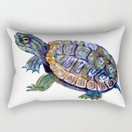 Slider Baby Turtle artwork Rectangular Pillow