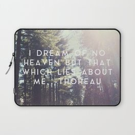 Heaven Lies About Me Laptop Sleeve