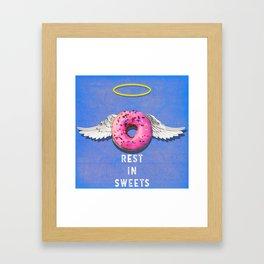 Sweet Angel Framed Art Print