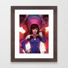 D.Va Framed Art Print