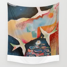 Fly Away Wall Tapestry