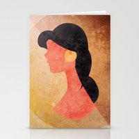 aladdin Stationery Cards featuring Aladdin Quote by Melissa Vibar