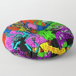 MONSTER FIGHT Floor Pillow