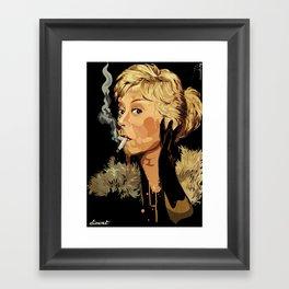 ICON: Masina Framed Art Print