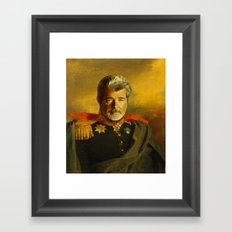 George Lucas - replaceface Framed Art Print