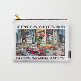 Times Square NYC (poster edition) Carry-All Pouch