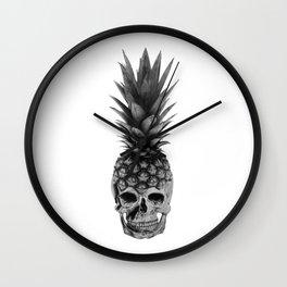 Pineapple Punk Wall Clock