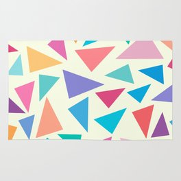 Colorful geometric pattern II Rug