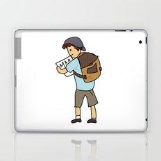 Backpacker Laptop & iPad Skin