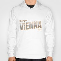 "vienna Hoodies featuring Vintage Print ""Goodnight Vienna."" by Lewys Williams"