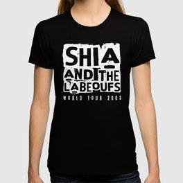 Shia and the LaBeoufs World Tour 2003 (White) T-shirt