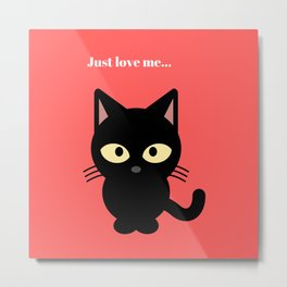 Cat, Cats - Love Cats Metal Print