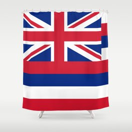 State flag of Hawaii Shower Curtain