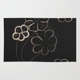 Light Sepia Flower Pattern #1 #drawing #decor #art #society6 Rug