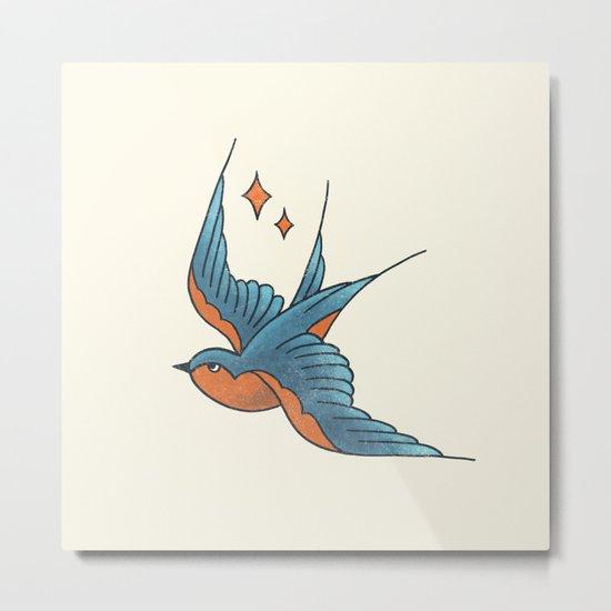 Swallow Flash  Metal Print