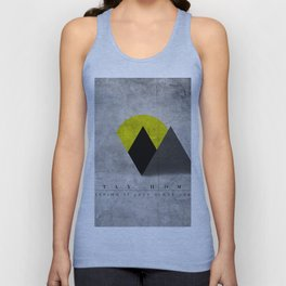 Stay Home (keepin' it lazy since 1983) Unisex Tank Top