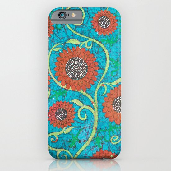 Kate's Flower Batik 2 iPhone & iPod Case