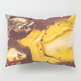 Amber Honey Agate Pillow Sham