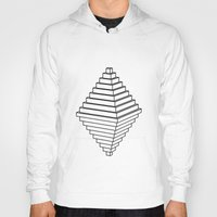 pyramid Hoodies featuring Pyramid by Goldsmith´s corner