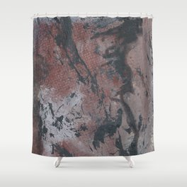 2017 Composition No. 4 Shower Curtain