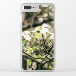 Dogwood 6 Clear iPhone Case