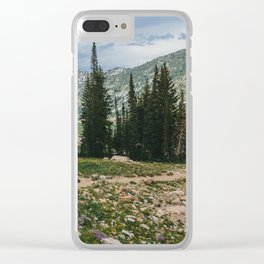 Wasatch Mountains, Utah Clear iPhone Case