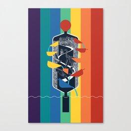 Wellington NZ Canvas Print