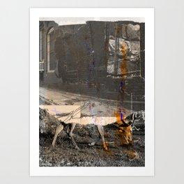 memory and perception 34 Art Print