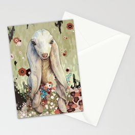 A Goat of Refinement Stationery Cards