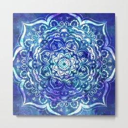 Mystical Mandala Metal Print