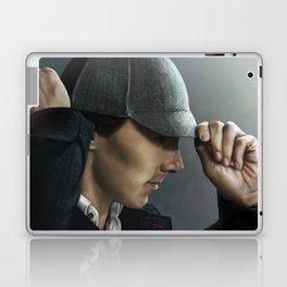 Sherlock and his deerstalker Laptop & iPad Skin