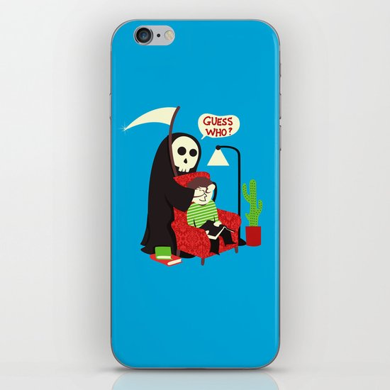 Guess Who iPhone Skin