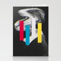 glitch Stationery Cards featuring Glitch by Mrs Araneae