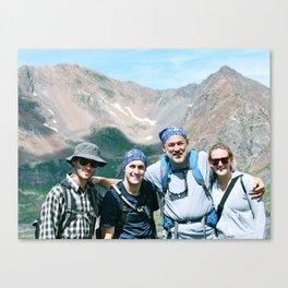 CB Family Canvas Print