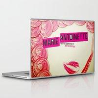 marie antoinette Laptop & iPad Skins featuring Marie Antoinette by Linda Hordijk