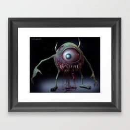 Mike Wazowski Framed Art Print