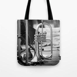Jazz Trumpet Tote Bag