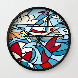 Maryland Bay Breeze Wall Clock