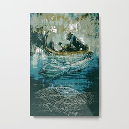 The Sound That Carries Across the Ocean Metal Print