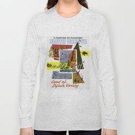 Vintage South Dakota Travel Long Sleeve T-shirt