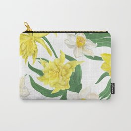 daffodil flowers Carry-All Pouch
