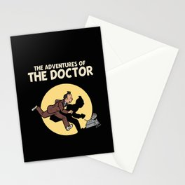 The Adventures Of The Doctor Stationery Cards